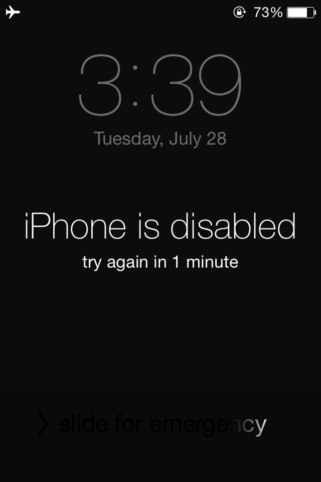 Unlock iPhone passcode when forgot screen lock