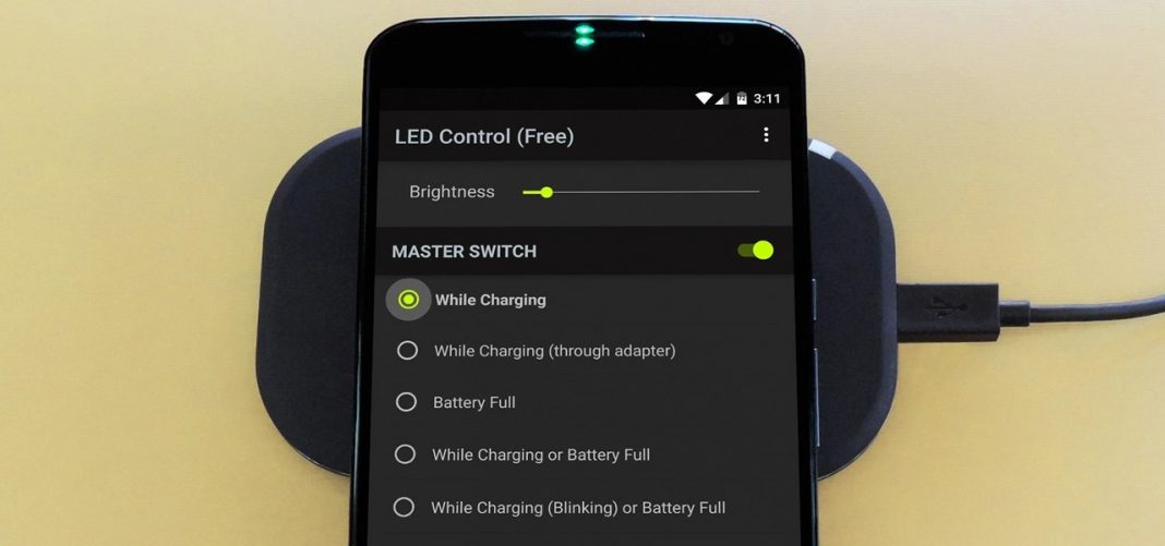 Enable Charging LED on Nexus 6