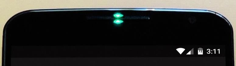 guide on how to enable charging LED on Nexus 6.