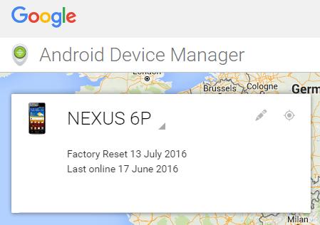 erase-lost-nexus-6p-remotely-locate