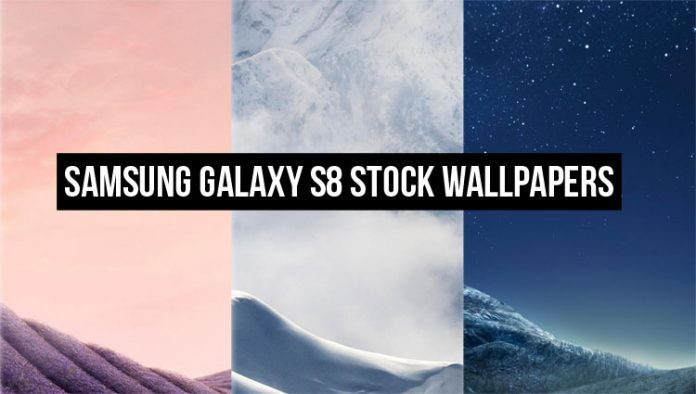 Download Stock Samsung galaxy S8 wallpapers